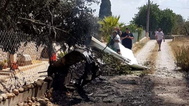 Siete muertos en un accidente de helicóptero en Mallorca