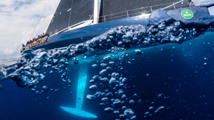 Un Wally, durante una regata en aguas de Puerto Cervo. | CARLO...