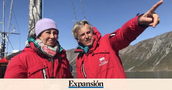 Ana Botín realiza una expedición por el sur de Groenlandia para 'Planeta Calleja'