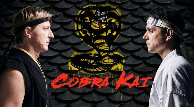 La serie 'Cobra Kai' está inspirada en Karate Kid y ha sido...