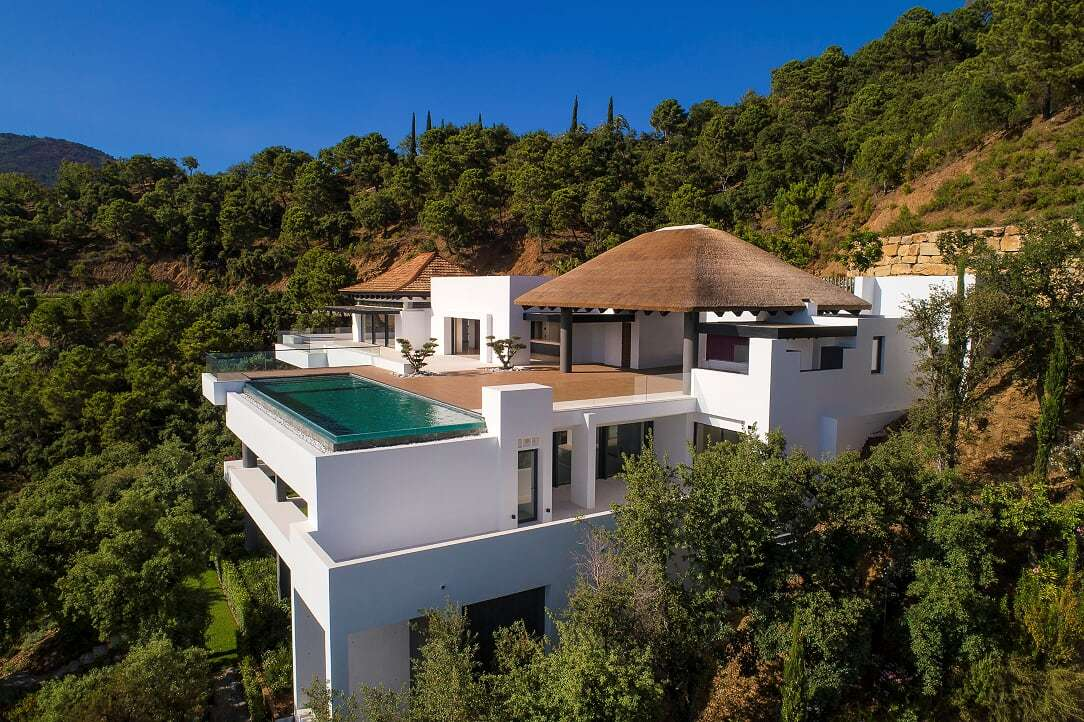 Para construir la villa Komorebi House se han tenido en cuenta no solo...