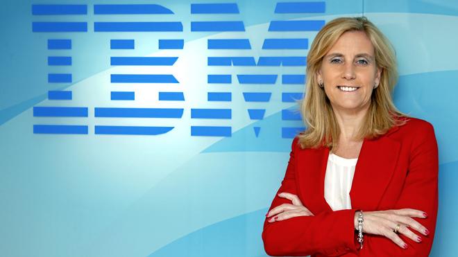 Marta Martínez, presidenta de IBM España.