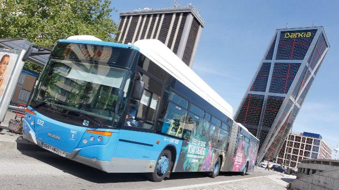 Los autobuses de Madrid prueban el pago a través del reconocimiento facial