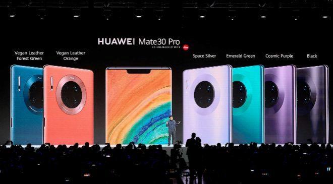 Presentación de la familia Mate 30 de Huawei en Múnich (Alemania).