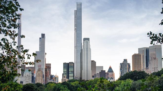 Central Park Tower, el rascacielos de viviendas más alto del mundo