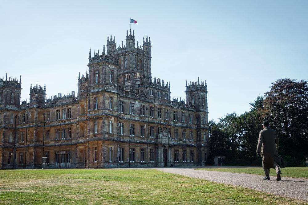 Highclere Castle es el hogar del conde y la condesa de Carnavon y su...