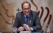 El presidente de la Generalitat Quim Torra,