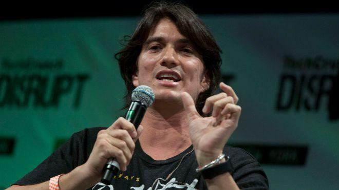 Adam Neumann, CEO de WeWork.