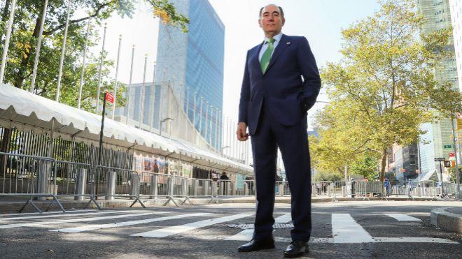 Galán pide medidas urgentes contra el cambio climático
