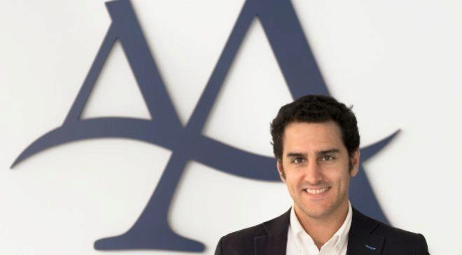 Mikel Grande es el director de Innovación y Márketing de Angulas...