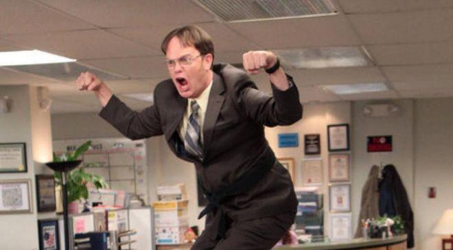 Fotograma de la serie The Office.