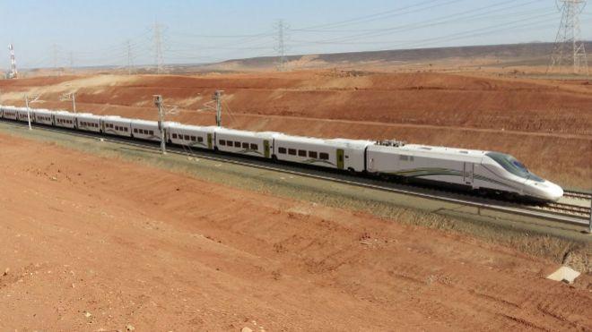 El AVE a La Meca suspende su servicio tras el incendio en la estación de Yeda