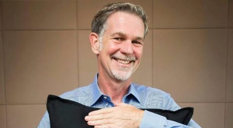 Reed Hastings,  presidente de Netflix.