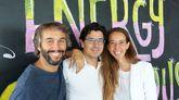 Oriol Vila, Ferran Nogué y Carlota Pi, socios fundadores de Holaluz.