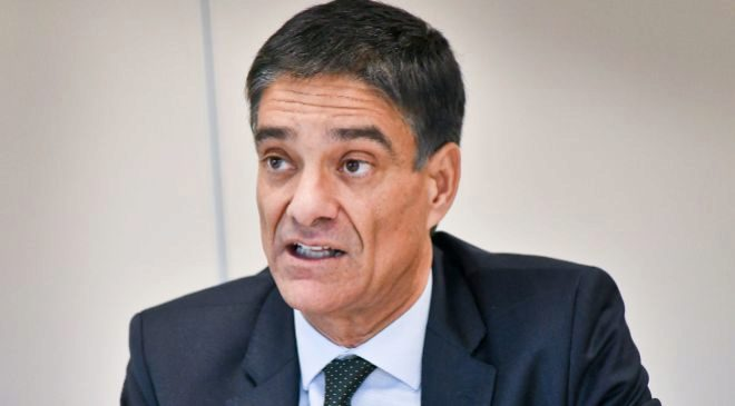 José María de la Torre,  presidente y consejero delegado de HPE...