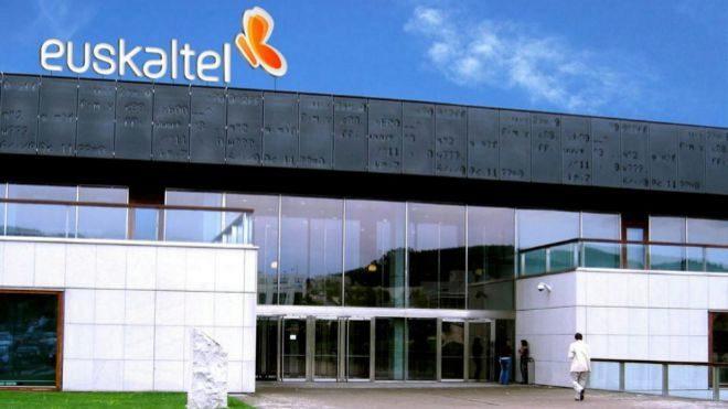 Sede de Euskaltel en el Parque Científico y Tecnológico de Vizcaya.