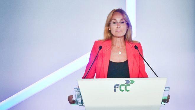 Esther Alcocer Koplowitz en la última junta de accionistas de la...