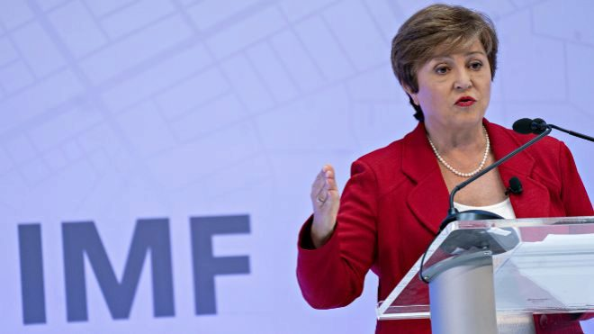 Kristalina Georgieva, directora gerente del FMI.
