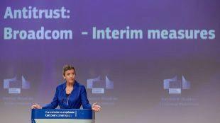 Margrethe Vestager, comisaria de Competencia de la UE
