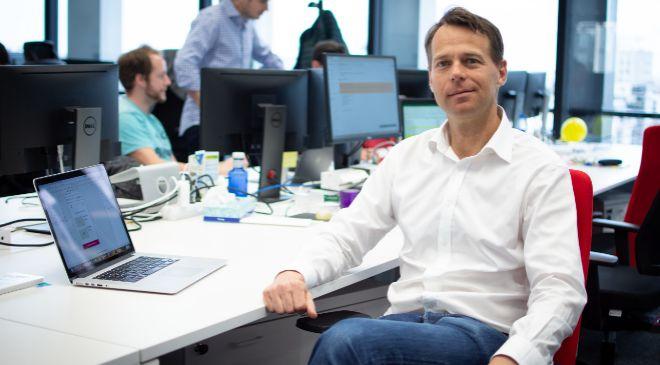 Rolf Cederström, cofundador y consejero delegado de la...