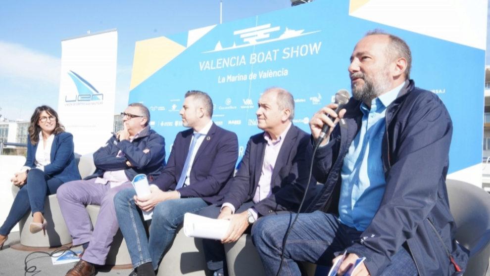 Isabel Gil, Vicent Llorens, Jordi Mayor, Toni Bernabé y Nacho...