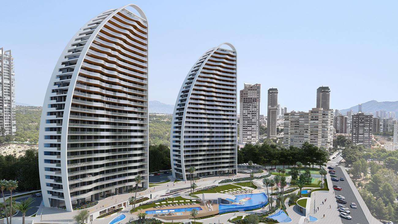De diseño vanguardista y sofisticado, este proyecto  de TM situado en...