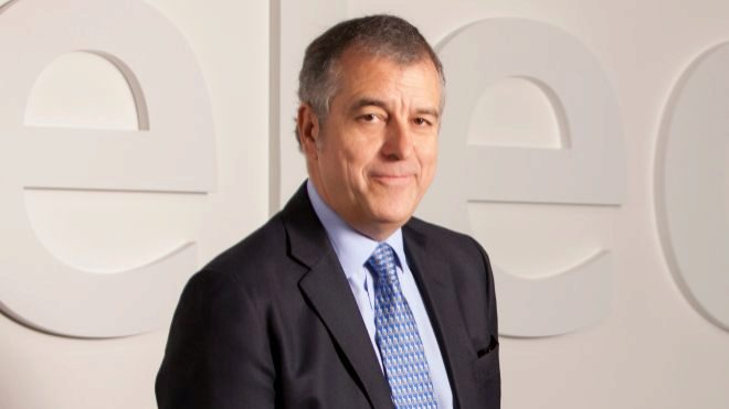 El consejero delegado de Elecnor, Rafael Martín de Bustamante.
