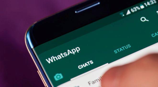 Aplicación de WhatsApp.