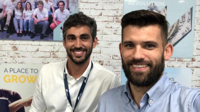 Cristian de Santos e Ignasi Aliguer, fundadores de Saalg Geomechanics.
