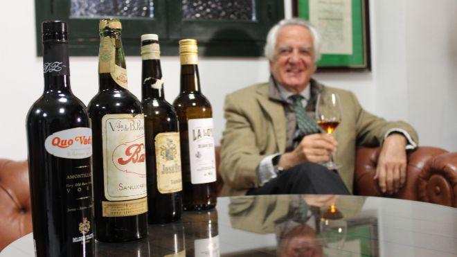 José María Bustillo, presidente de Bodegas Delgado Zuleta.