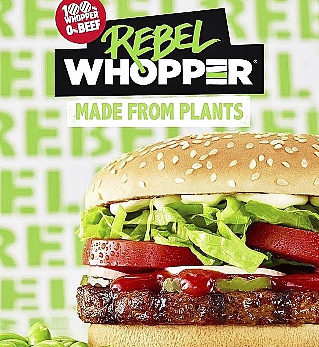 The Vegetarian Butcher y Burger King presentan su primera hamburguesa vegetal