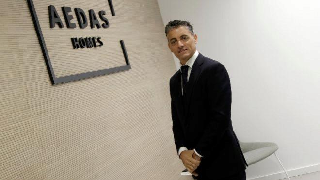 Diego Chacón,  Director Territorial de Aedas Homes en Andalucía,  en...