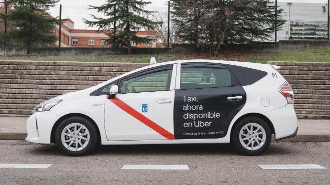 Uber logra persuadir al taxi madrileño y lo integrará en su plataforma