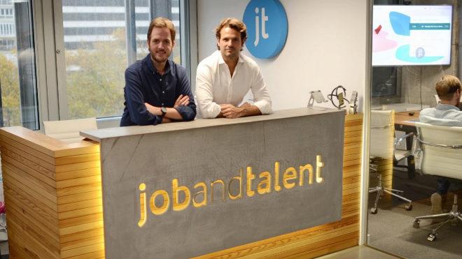 Felipe Navio  y Juan Urdiales, fundadores y co-CEO de Jobandtalent.