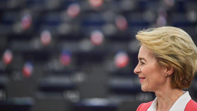 Von der Leyen logra un amplio visto bueno de la Eurocámara