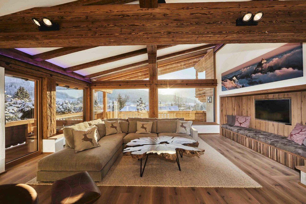 Esta villa alpina, ubicada en la codiciada zona de Lutzenberg, cuenta...
