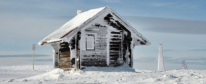 Antes de dejar la dirección de Norges Bank el mes pasado, Yngve Slyngstad pasó seis meses solo en una cabaña del Ártico.