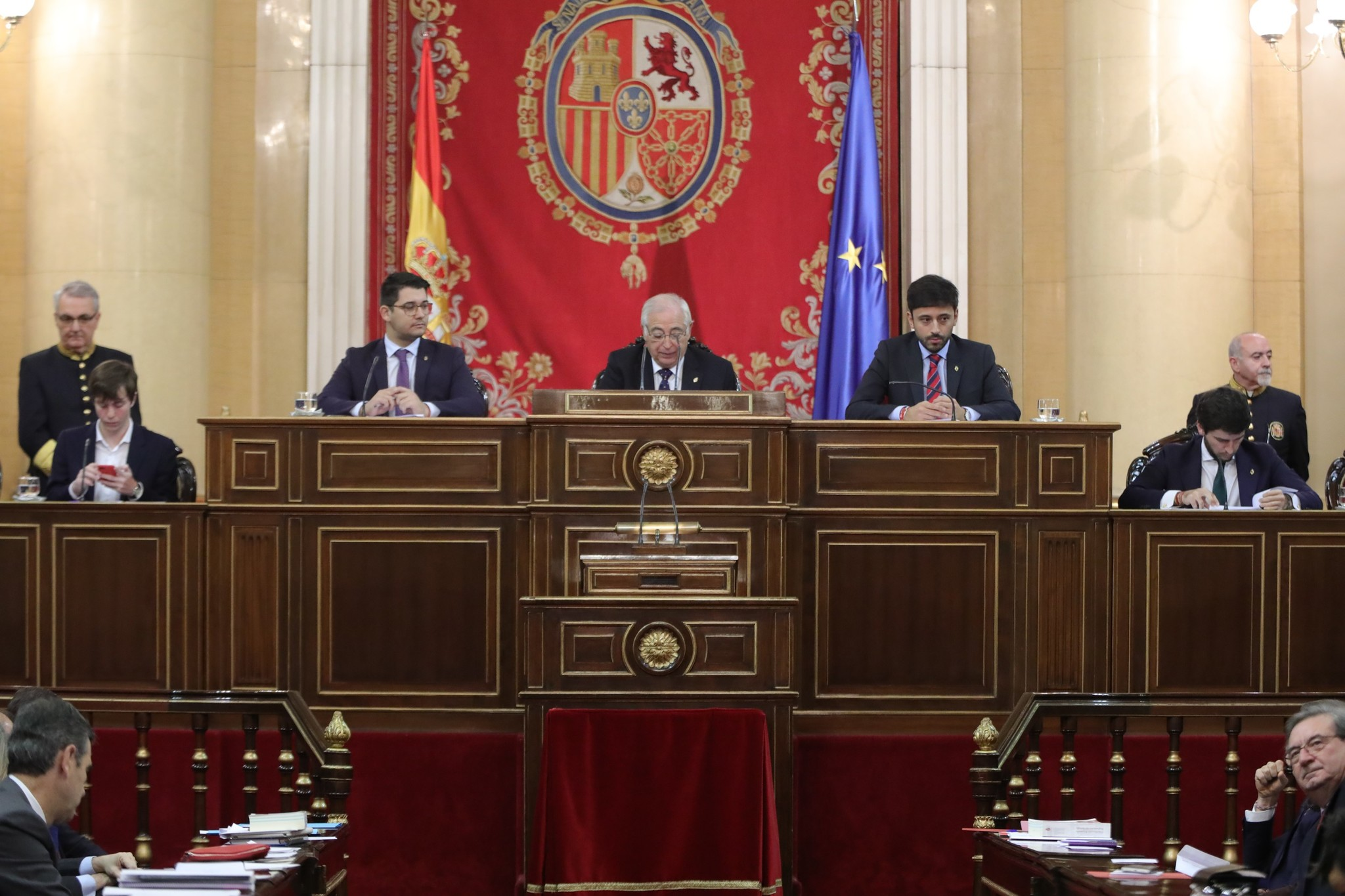 [XI Legislatura] Constitución del Senado 15753746578171