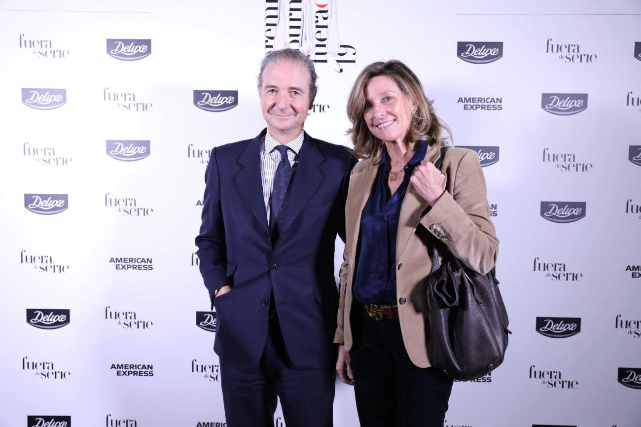 Íñigo Calderón, de Indosuez, y María Aguilar de Bacana...