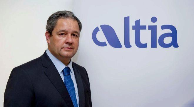 Tino Fernández, presidente de Altia.
