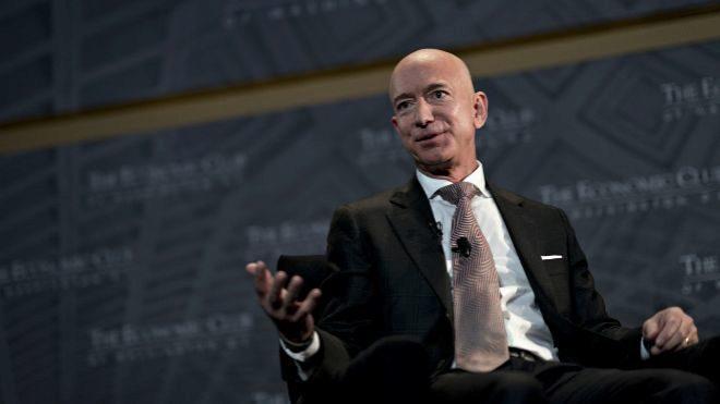El fundador y CEO de Amazon Jeff Bezos.