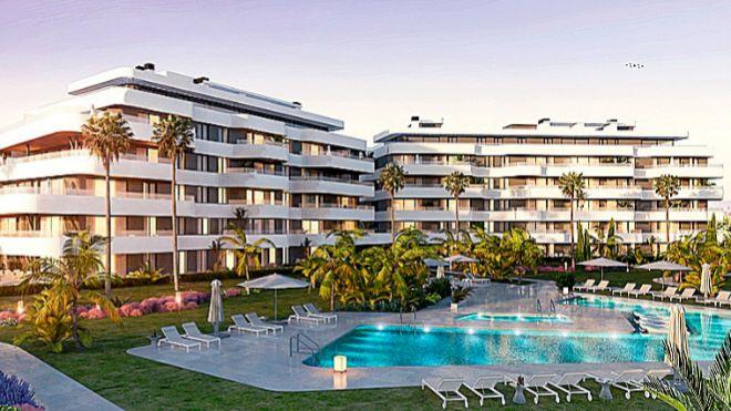 Promoción Habitat Alborán ubicada en Málaga.