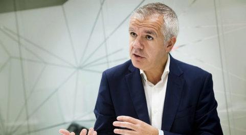 Celestino García, vicepresidente y consejero delegado de Samsung...