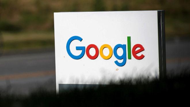 Cartel de Google.