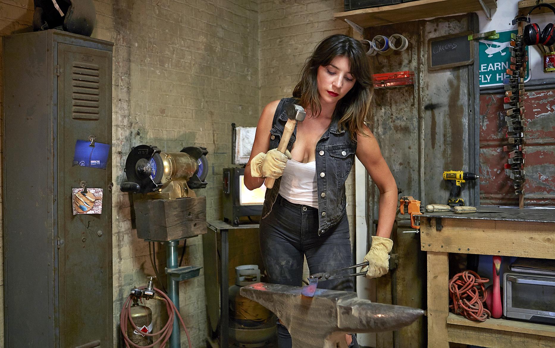 Chelsea Miller, de actriz a herrera de cuchillos de lujo para chefs con estrella Michelin 15761659566892