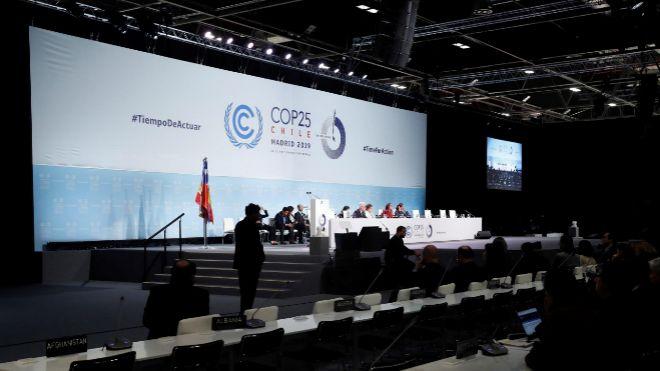 Imagen de la Cumbre del Clima que se celebra en Madrid