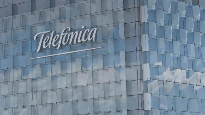 Edificio de Telefónica en Madrid.