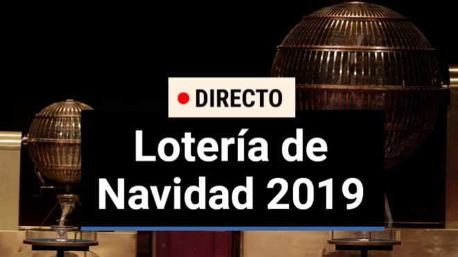 Lotería de Navidad 2019 en directo