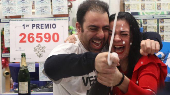 El Gordo madruga para repartir millones, sobre todo en Tarragona y Alicante