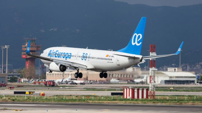 Air Europa marcará su récord de pasajeros transportados en 2019